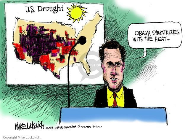 Mike Luckovich  Mike Luckovich's Editorial Cartoons 2012-09-16 presidential election