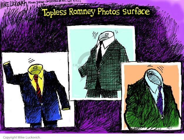Topless Romney Photos Surface.