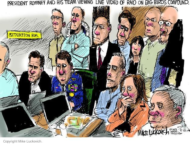 Mike Luckovich  Mike Luckovich's Editorial Cartoons 2012-10-07 presidential election