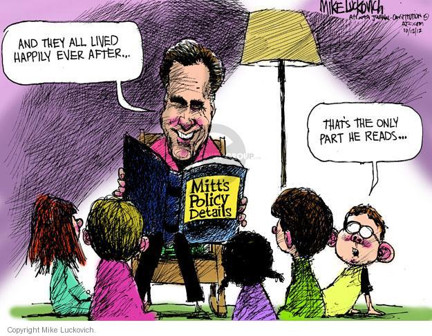 Mike Luckovich  Mike Luckovich's Editorial Cartoons 2012-10-12 policy