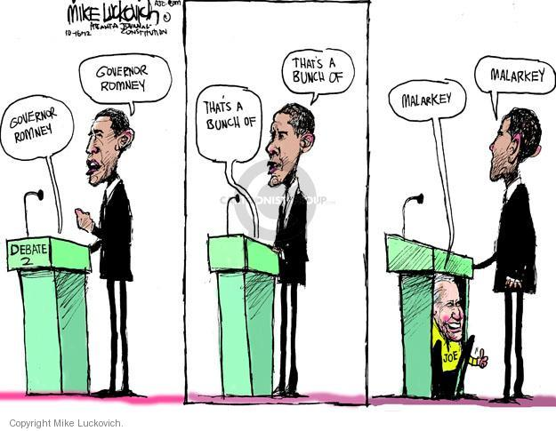 Mike Luckovich  Mike Luckovich's Editorial Cartoons 2012-10-16 presidential election
