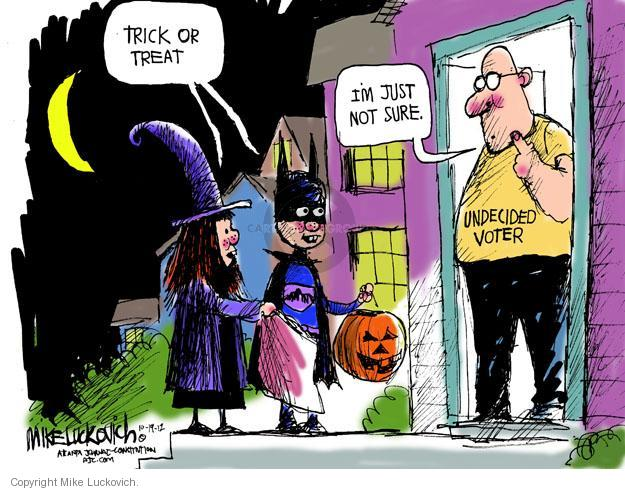 Mike Luckovich  Mike Luckovich's Editorial Cartoons 2012-10-19 Halloween