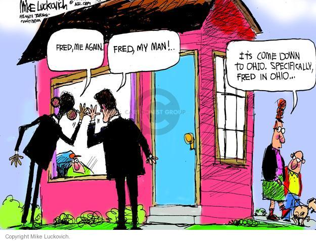 Mike Luckovich  Mike Luckovich's Editorial Cartoons 2012-10-23 presidential election