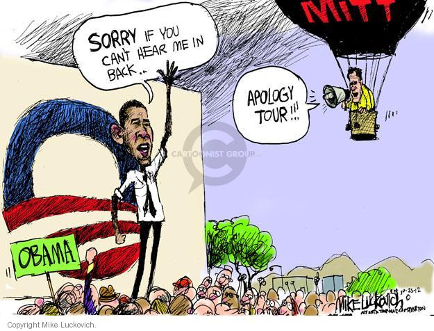 Cartoonist Mike Luckovich  Mike Luckovich's Editorial Cartoons 2012-10-25 2012 election