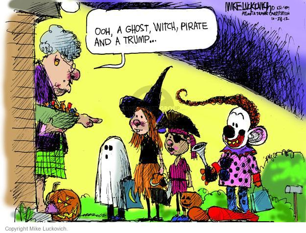 Mike Luckovich  Mike Luckovich's Editorial Cartoons 2012-10-28 Halloween