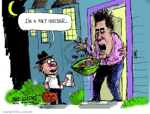Mike Luckovich  Mike Luckovich's Editorial Cartoons 2012-10-31 Halloween