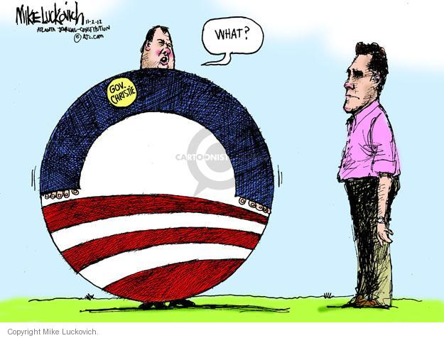 Mike Luckovich  Mike Luckovich's Editorial Cartoons 2012-11-02 republican politician