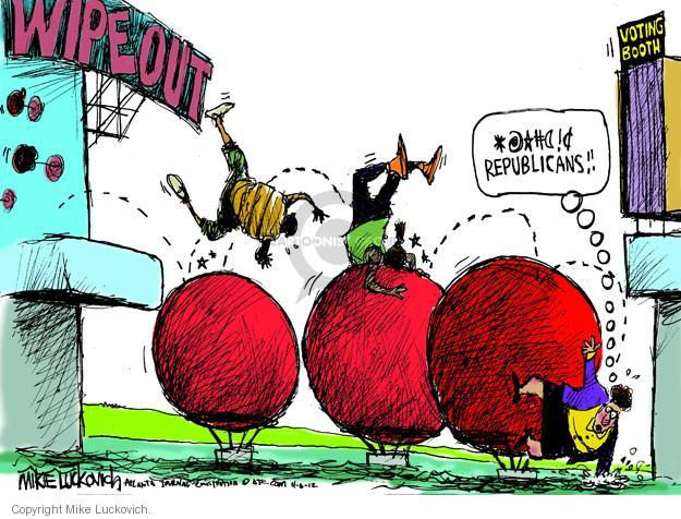 Mike Luckovich  Mike Luckovich's Editorial Cartoons 2012-11-06 voting rights