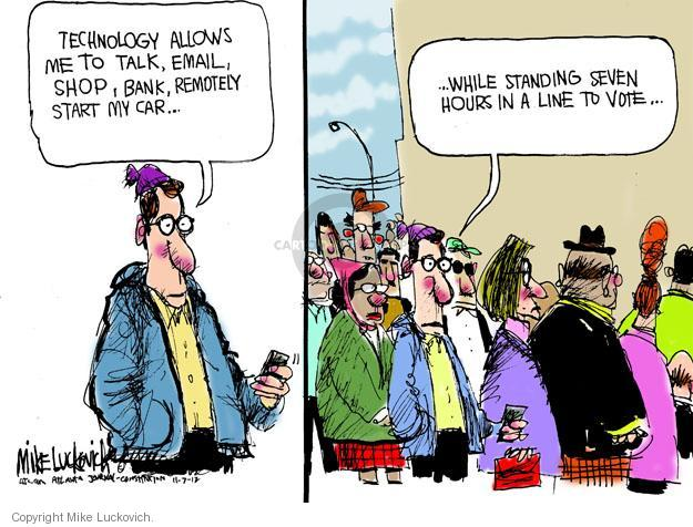 Mike Luckovich  Mike Luckovich's Editorial Cartoons 2012-11-07 tech