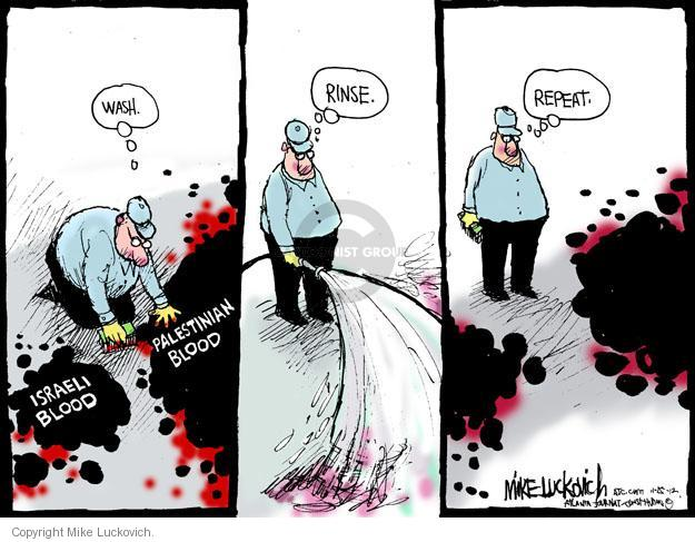 Mike Luckovich  Mike Luckovich's Editorial Cartoons 2012-11-25 mideast