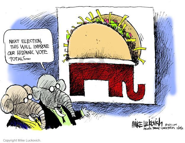 Mike Luckovich  Mike Luckovich's Editorial Cartoons 2012-11-27 republican politician