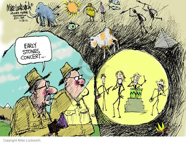 Cartoonist Mike Luckovich  Mike Luckovich's Editorial Cartoons 2012-11-28 old age
