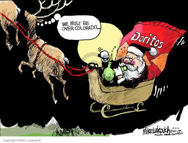 Cartoonist Mike Luckovich  Mike Luckovich's Editorial Cartoons 2012-12-02 drug