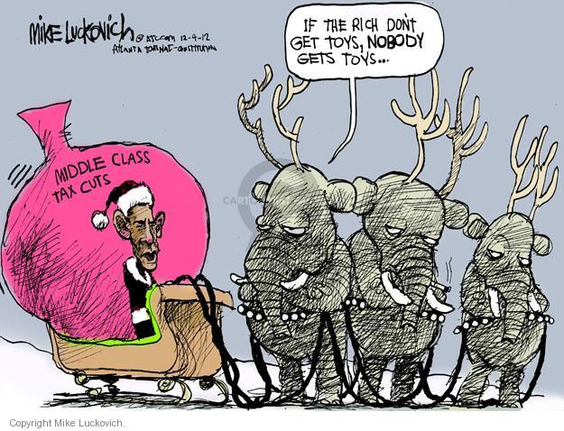 Mike Luckovich  Mike Luckovich's Editorial Cartoons 2012-12-04 republican politician