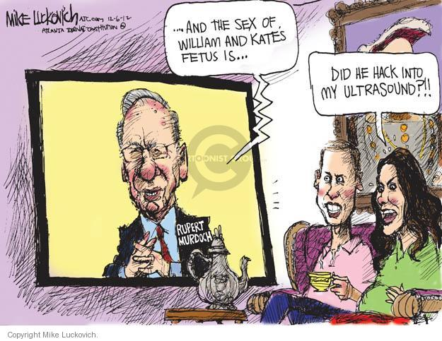 Cartoonist Mike Luckovich  Mike Luckovich's Editorial Cartoons 2012-12-06 William