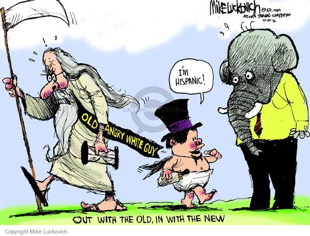 Mike Luckovich  Mike Luckovich's Editorial Cartoons 2012-12-30 guy