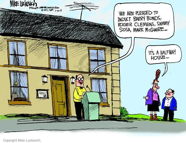 Cartoonist Mike Luckovich  Mike Luckovich's Editorial Cartoons 2013-01-10 drug