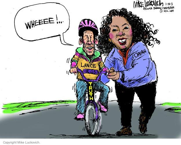 Cartoonist Mike Luckovich  Mike Luckovich's Editorial Cartoons 2013-01-18 drug