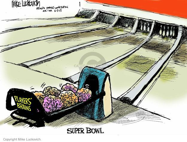 Mike Luckovich  Mike Luckovich's Editorial Cartoons 2013-02-03 football player