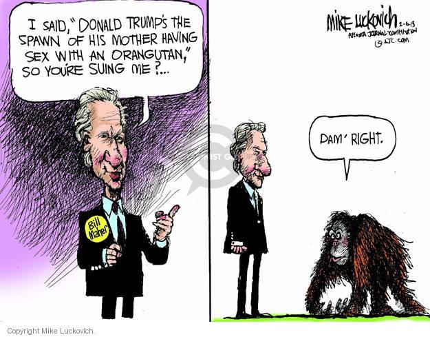 Cartoonist Mike Luckovich  Mike Luckovich's Editorial Cartoons 2013-02-06 comedian