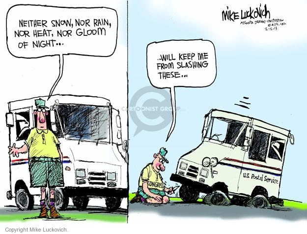 Cartoonist Mike Luckovich  Mike Luckovich's Editorial Cartoons 2013-02-16 cutting