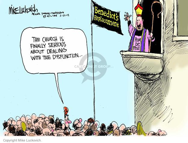 Mike Luckovich  Mike Luckovich's Editorial Cartoons 2013-02-27 problem