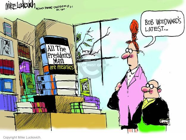Cartoonist Mike Luckovich  Mike Luckovich's Editorial Cartoons 2013-03-01 book