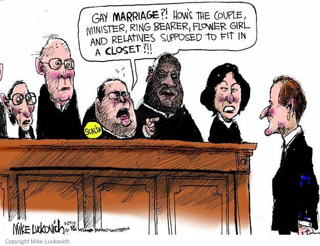 Cartoonist Mike Luckovich  Mike Luckovich's Editorial Cartoons 2013-03-27 judicial branch