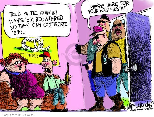 Mike Luckovich  Mike Luckovich's Editorial Cartoons 2013-04-14 Ford