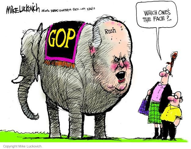 Mike Luckovich  Mike Luckovich's Editorial Cartoons 2013-04-26 pundit