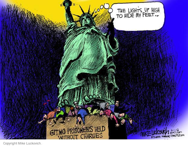 Cartoonist Mike Luckovich  Mike Luckovich's Editorial Cartoons 2013-05-01 prison