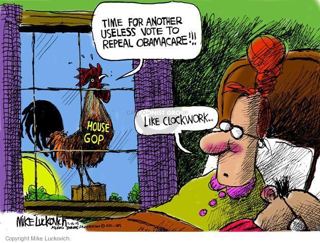 Mike Luckovich  Mike Luckovich's Editorial Cartoons 2013-05-16 republican politician