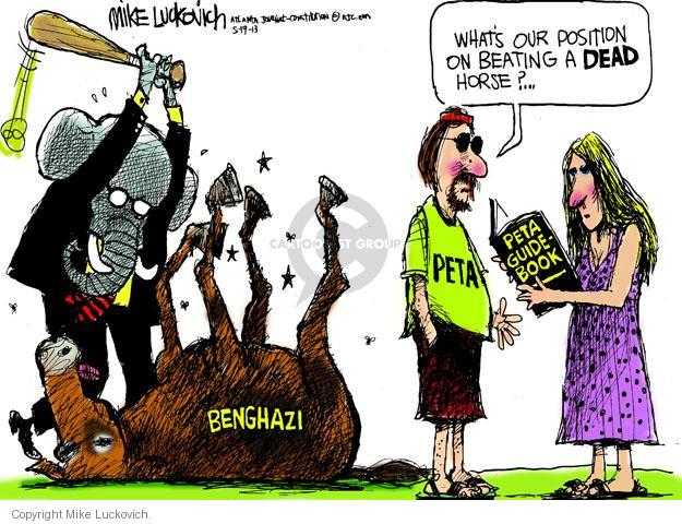 Mike Luckovich  Mike Luckovich's Editorial Cartoons 2013-05-19 republican politician