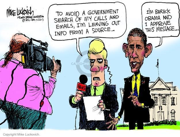 Mike Luckovich  Mike Luckovich's Editorial Cartoons 2013-05-23 freedom of speech