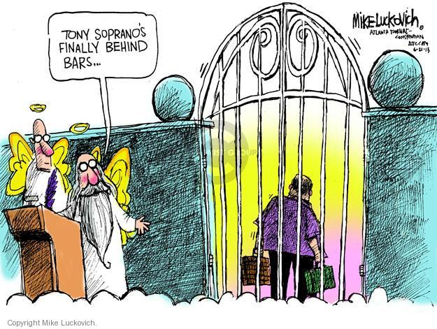 Mike Luckovich  Mike Luckovich's Editorial Cartoons 2013-06-21 death dying