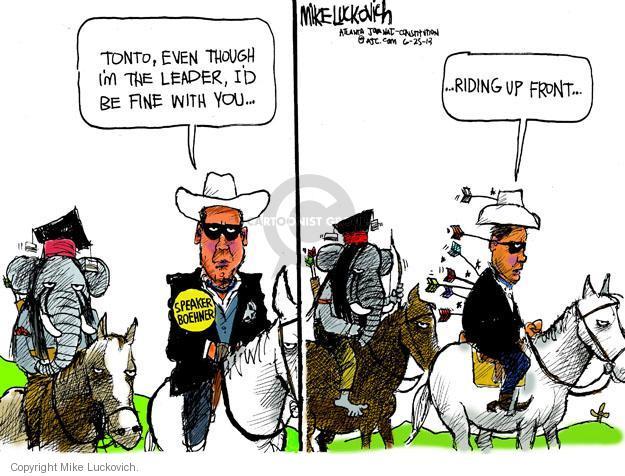 Mike Luckovich  Mike Luckovich's Editorial Cartoons 2013-06-25 republican politician