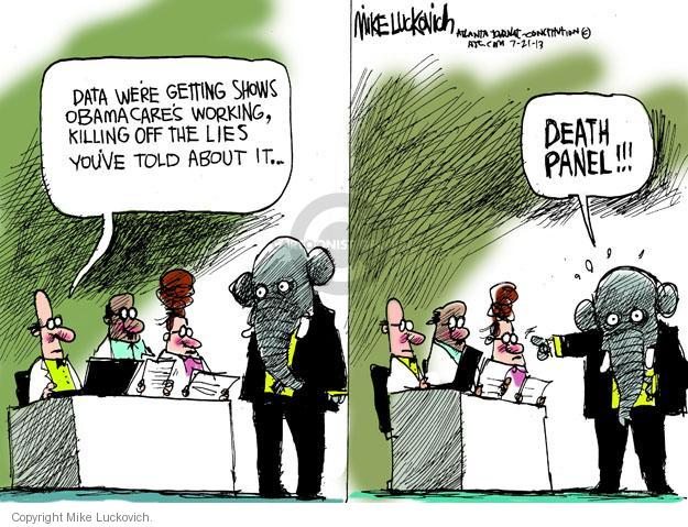 Cartoonist Mike Luckovich  Mike Luckovich's Editorial Cartoons 2013-07-21 distract