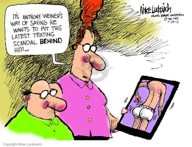 Cartoonist Mike Luckovich  Mike Luckovich's Editorial Cartoons 2013-07-24 election