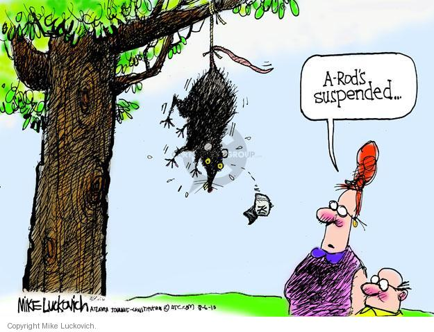 Cartoonist Mike Luckovich  Mike Luckovich's Editorial Cartoons 2013-08-06 drug