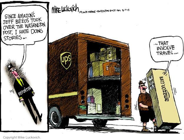 Cartoonist Mike Luckovich  Mike Luckovich's Editorial Cartoons 2013-08-07 CEO