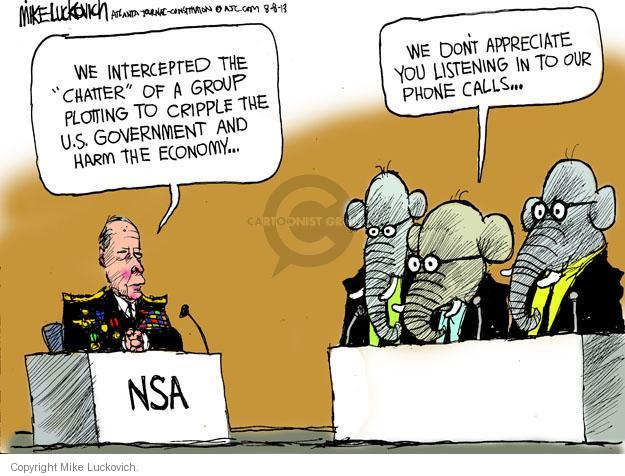 Mike Luckovich  Mike Luckovich's Editorial Cartoons 2013-08-08 republican