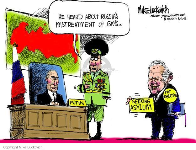 Mike Luckovich  Mike Luckovich's Editorial Cartoons 2013-08-13 former president