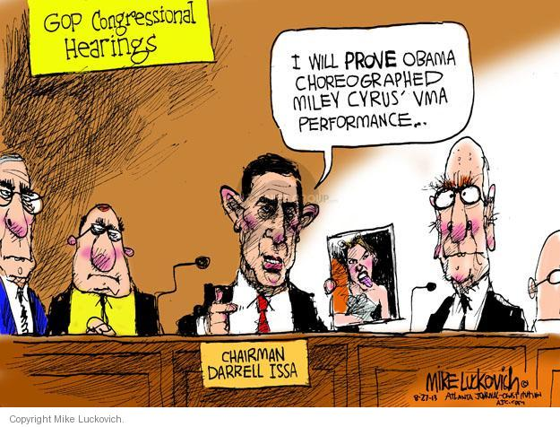 Mike Luckovich  Mike Luckovich's Editorial Cartoons 2013-08-27 republican politician
