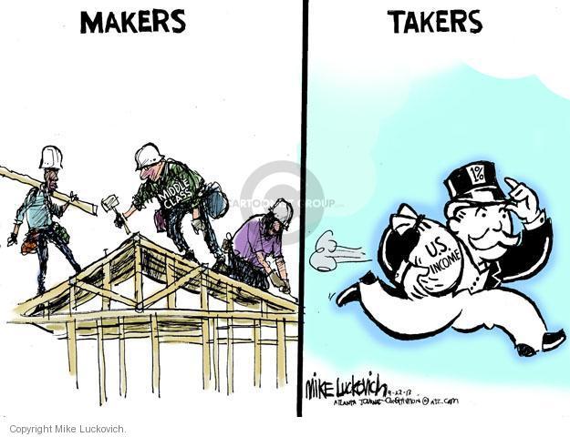 Cartoonist Mike Luckovich  Mike Luckovich's Editorial Cartoons 2013-09-22 make