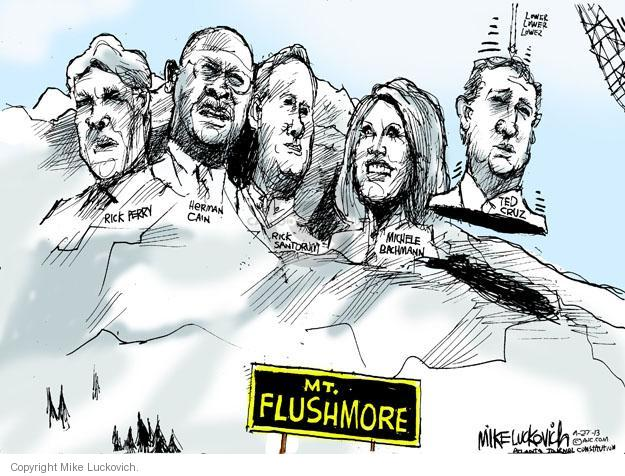 Cartoonist Mike Luckovich  Mike Luckovich's Editorial Cartoons 2013-09-28 CEO
