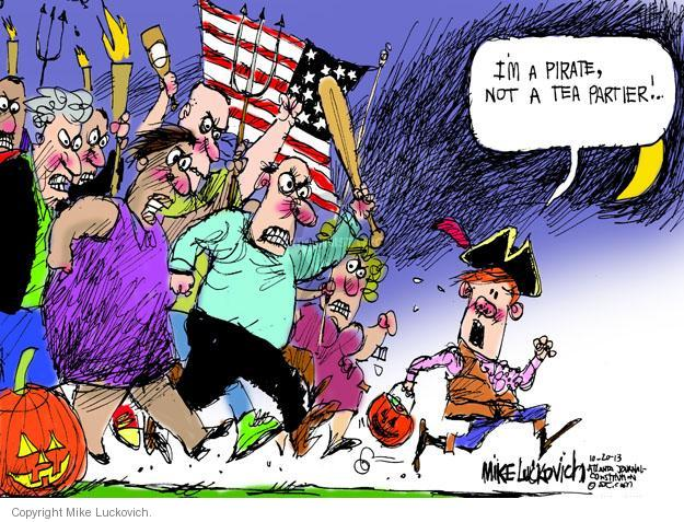Mike Luckovich  Mike Luckovich's Editorial Cartoons 2013-10-22 Halloween