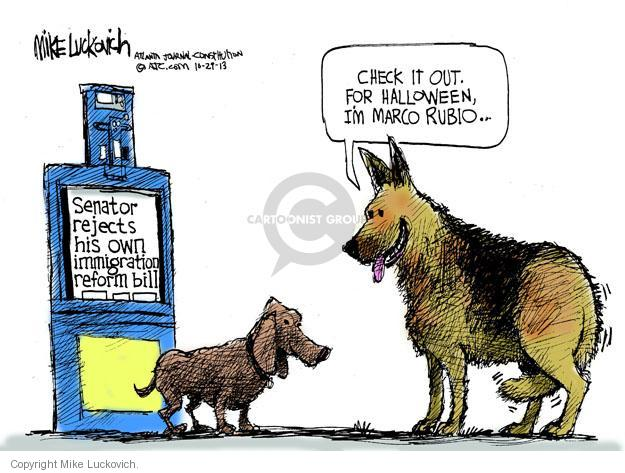 Mike Luckovich  Mike Luckovich's Editorial Cartoons 2013-10-29 republican politician