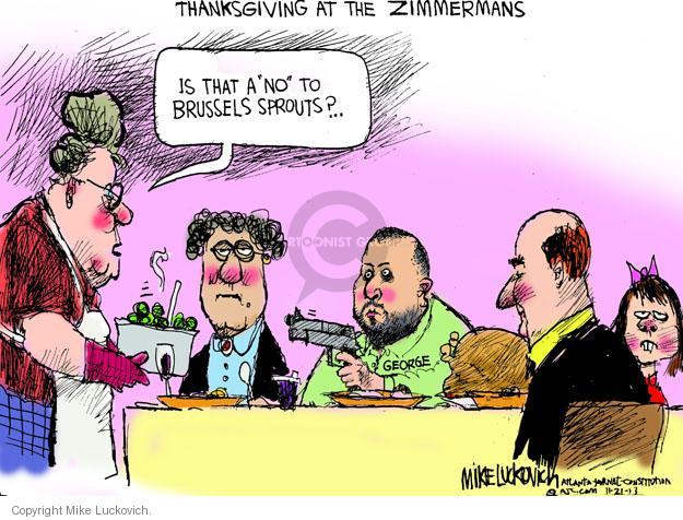 Cartoonist Mike Luckovich  Mike Luckovich's Editorial Cartoons 2013-11-21 Martin