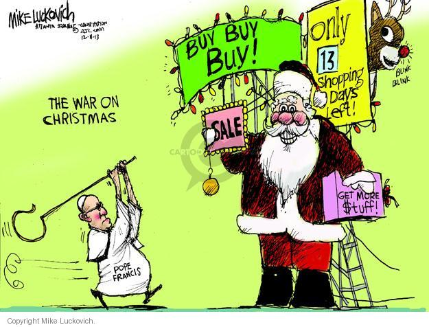 Mike Luckovich  Mike Luckovich's Editorial Cartoons 2013-12-11 buy