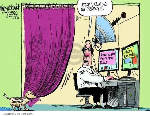 Cartoonist Mike Luckovich  Mike Luckovich's Editorial Cartoons 2013-12-18 violate